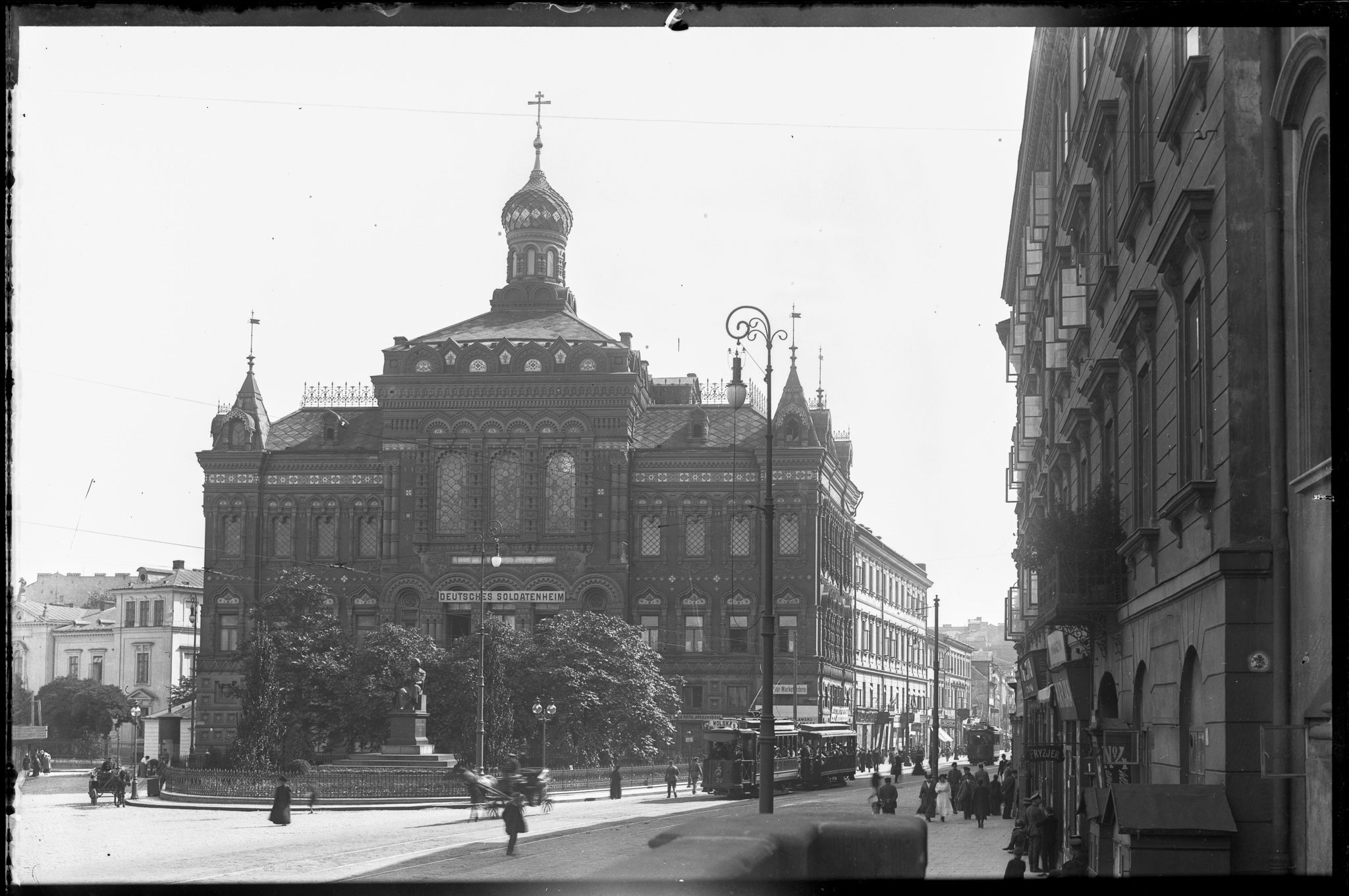 Pałac Staszica 1916